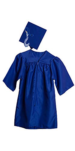 Jostens Graduation Cap and Gown Package Medium Royal Blue
