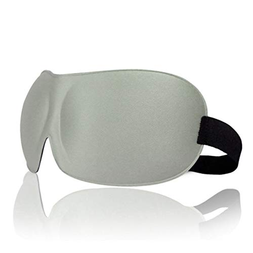 3D Eye Mask Natural Sleep Padded Shade Cover Rest Relax Sleeping Blindfold Shade Eye Patch Portable Blindfold Eyepatch