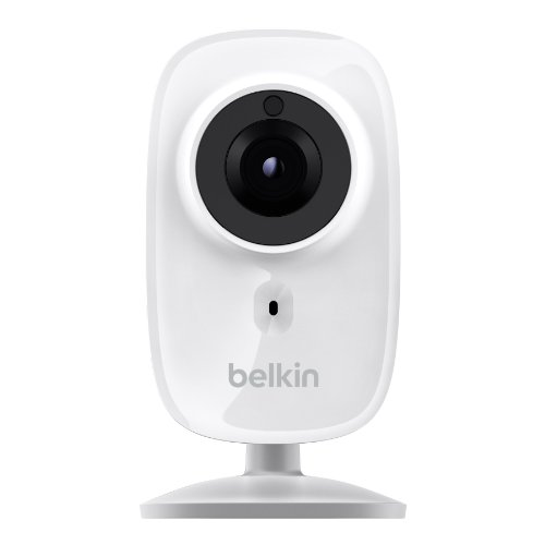 Belkin NetCam HD WLAN-Kamera (integrierter Nachtsichtfunktion, geeignet für iOS- und Android)