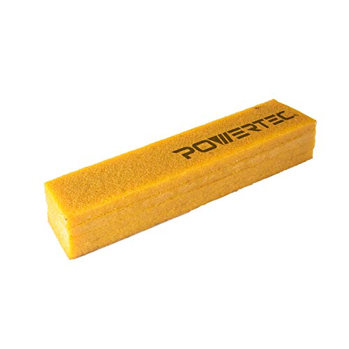POWERTEC 71407 Abrasive Cleaning Stick for Sanding Belts & Discs | Natural Rubber Eraser - Woodworking Shop Tools for Sanding Perfection