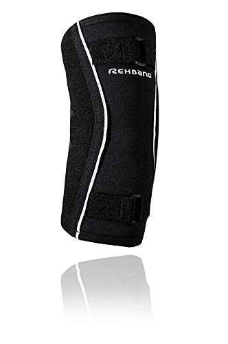Rehband Ud Hyper-x Elbow Brace - Tutore per Gomito, Unisex - Adulto, 122706-01, Nero, L