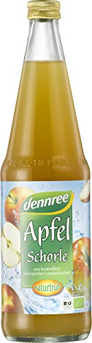dennree Bio Apfel-Schorle naturtrüb (6 x 700 ml)