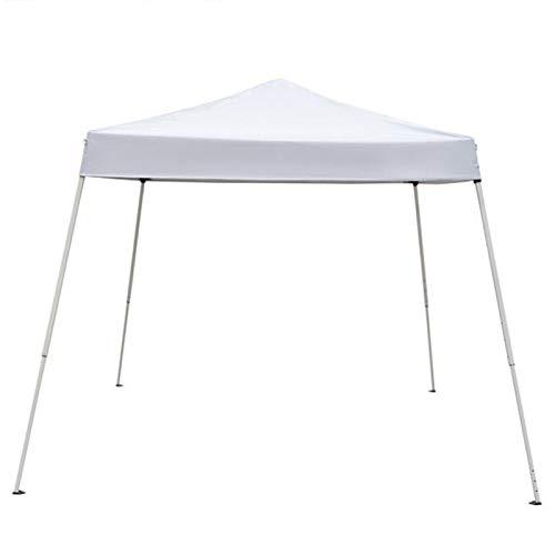 KHLRDK Gazebotent impermeable para uso doméstico, color blanco, refugio de playa plegable, cabaña deportiva portátil para bodas al aire libre, fiesta de jardín