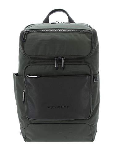 PIQUADRO Macbeth Computer Backpack With RFID Verde