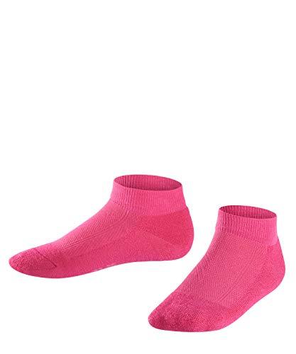 FALKE Kinder Sneakersocken Leisure, Baumwollmischung, 1 Paar, Rosa (Gloss 8550), Größe: 27-30