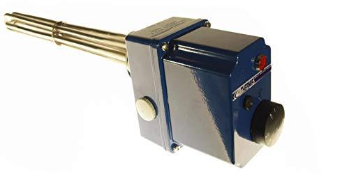 THERMIS TRG 11 Heizstab Heizpatrone mit Thermostat 4,5kw 3/400V G 6/4 Heizelement für Wasserspeicher Boiler Warmwasserspeicher Wasserheizung Heizungsspeicher
