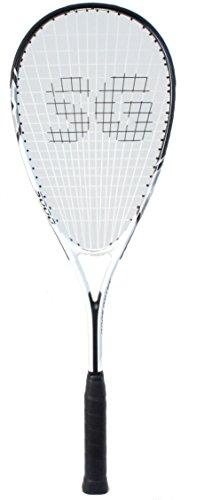SquashGalaxy Intro 5000 Squash Racquet Series (Beginner Frame, Amazing Value!!) (Gray)