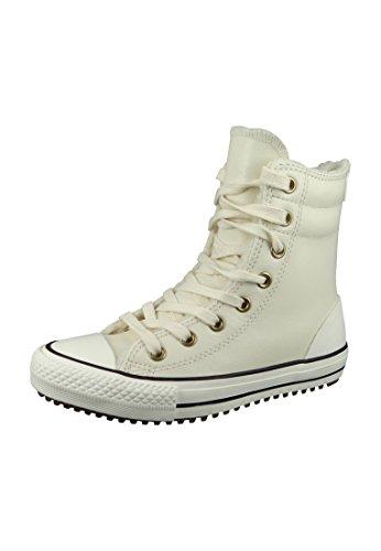 Converse Chuck Taylor All Star Hi-Rise X-Hi Little Kid's/Big Kid's Boots Parchment/Black/Egret 653389c (13.5 M US)