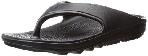 Spenco Women's Fusion 2 Sandal Flip-Flop, Black, 9 M Medium US