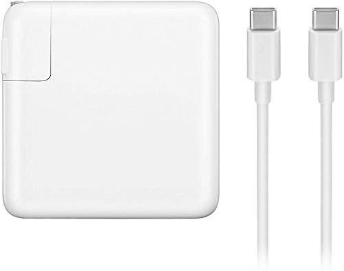 61W USB C Power Adapter Charger for MacBook Pro 13 Inch Laptop,with USB-C to USB-C Cable Power Supply Cord