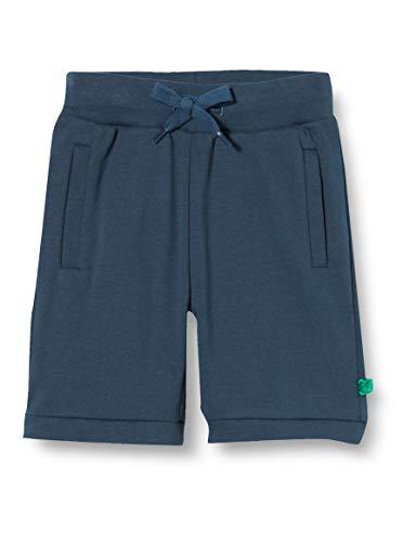 Fred's World by Green Cotton Jungen Alfa Boy Shorts, Blau (Midnight 019411006), (Herstellergröße: 128)
