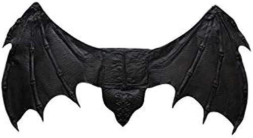 Horror-Shop Blautsauger Flügel Schwarz