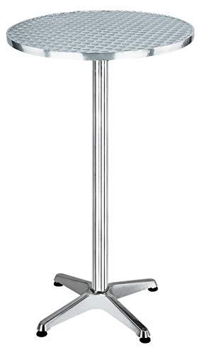 HOMEGARDEN Tavolo Rotondo in Alluminio e Acciaio