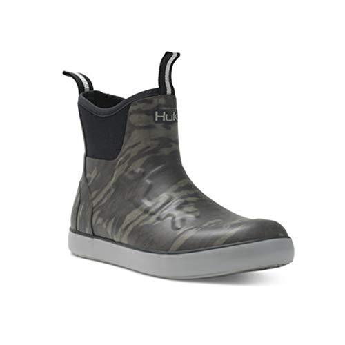 HUK Rogue Wave Shoe | High-Performance Fishing & Deck Boot, Mossy Oak Bottomland, 10