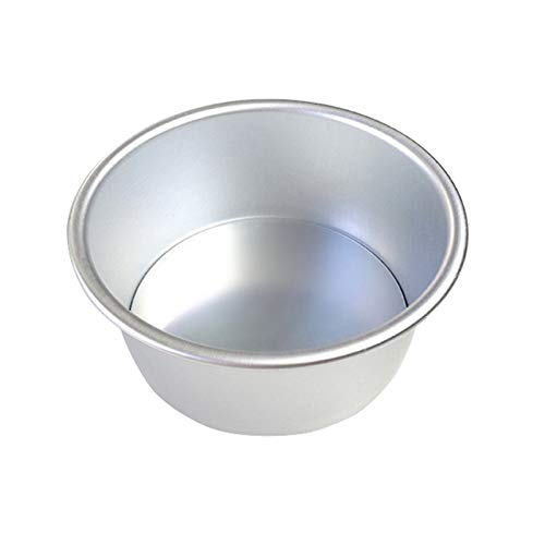 Molde de pastel Molde de la torta Aleación de aluminio Ronda DIY Tortas Molde de pastelería Hornear Tin Pan Tool Hacer pasteles (Shape Style : Round, Size : 6 inches)
