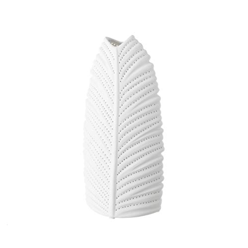 Lámpara de sobremesa de porcelana blanca étnica para salón Vitta - LOLAhome