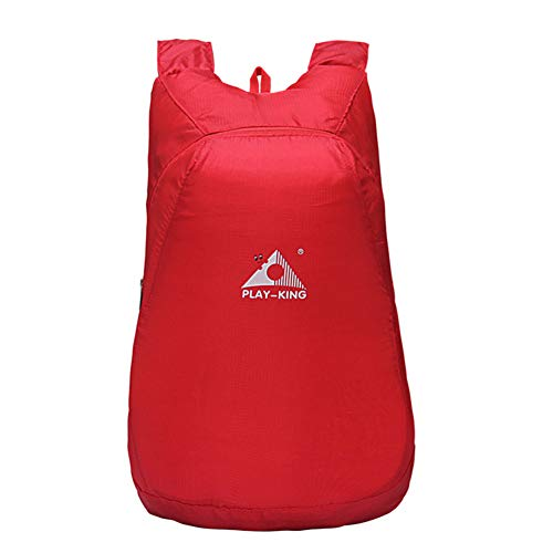 Ktimor Waterproof Foldable Sports Backpack, Portable Lightweight Large Capacity Bag for Outdoor Sports, 20-35L