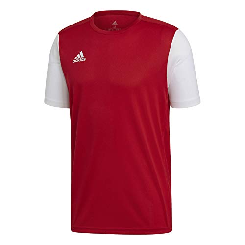 adidas ESTRO 19 JSY T-Shirt, Hombre, Power Red, M