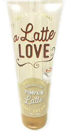 Bath and Body Works 2017 Marshmallow Pumpkin Latte Cream