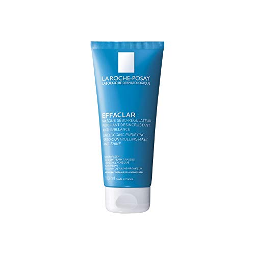 La Roche-Posay Effaclar Clarifying Clay Face Mask for Oily Skin, 3.38 Fl oz.