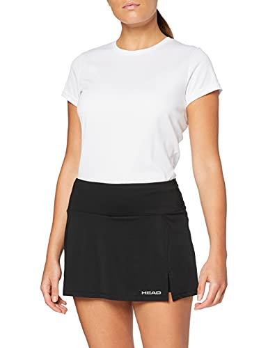 HEAD Damen Club Basic W Skirts, Black, S...