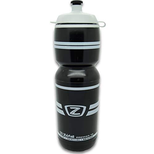 ZEFAL Premier 75 Bidón, Unisex Adulto, Negro, 750 ml