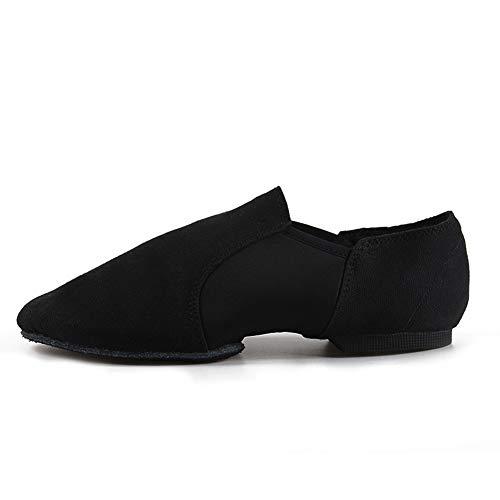 SWDZM Ponerse Zapatos de Baile de Jazz (para Adultos/niños) ES-WZJ Negro 40 EU/5.5 UK/24.4CM