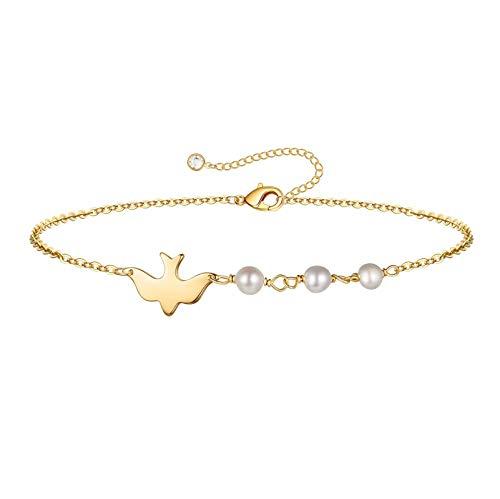 (65% OFF Coupon) Dainty Sparrow Bracelet $3.85