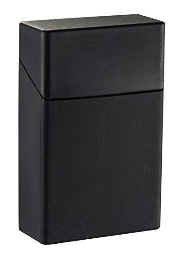 Visol Silicon Reusable, Non-Toxic Cigarette Holder and Pack Case (Black)