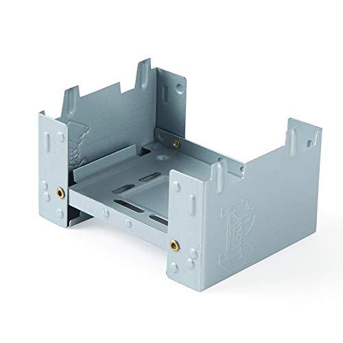 EnHike 304ステンレス ポットスタンド 固形燃料ストーブ用スタンド ポケットストーブ スタンド (2枚/4枚セット) (304ポットスタンド4枚)