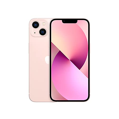 Apple iPhone 13 (128GB, Pink) [Locked] + Carrier Subscription
