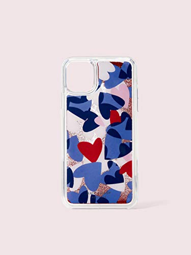 Kate Spade New York Heart Party Liquid Glitter iPhone 11 Pro Case