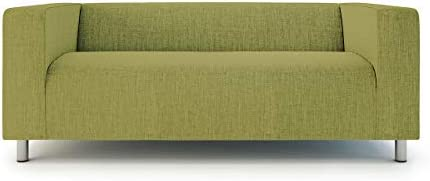 Best TLYESD Replace Cover for IKEA 2 Seater Klippan Loveseat Sofa,Polyester Fabric Slipcover