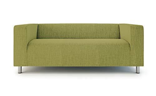 Klippan - Funda de sofá para sofá IKEA de 2 plazas Klippan Loveseat de repuesto, poliéster, color verde