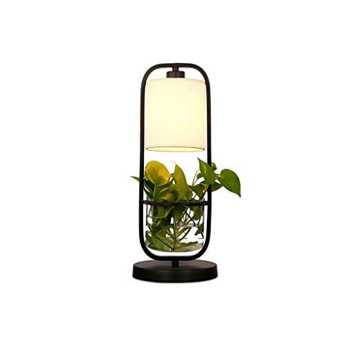 Lfixhssf Kreative Fabrik Tischlampe American Topfpflanze Bar Studium Schlafzimmer Nachttischlampe Restaurant Persönlichkeit Aquarium Tischlampe Lfixhssf