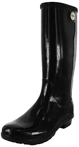 UGG Women's Shaye Boot, Black, 7