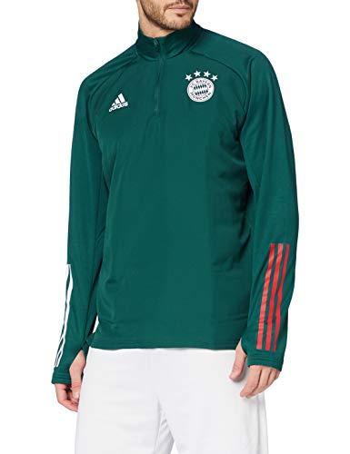 adidas 20/21 FC Bayern Warm Top Parte de Arriba, Hombre, Verde grisáceo, Extra-Large
