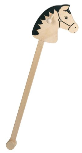 Toys Pure Wooden Hobby Horse