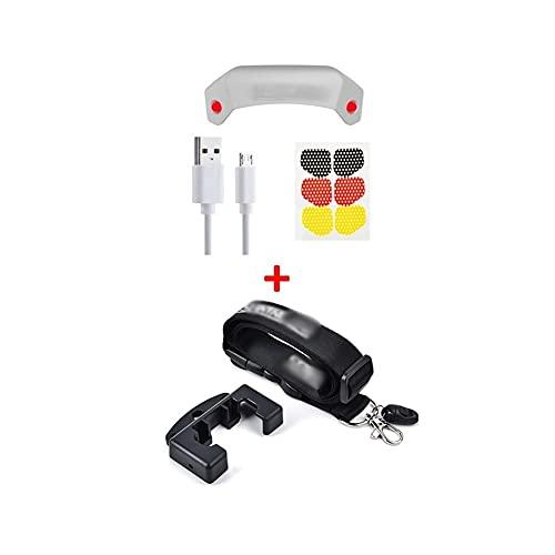 YXYX Drone Accessori Luce Occhio LED Spia Aumento Treppiede Landing Gear Per Mavic Mini 2 Drone Accessori UAV Adatto parti (Colore: A)