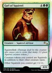 Magic: The Gathering - Earl of Squirrel - Foil - Launch Promo