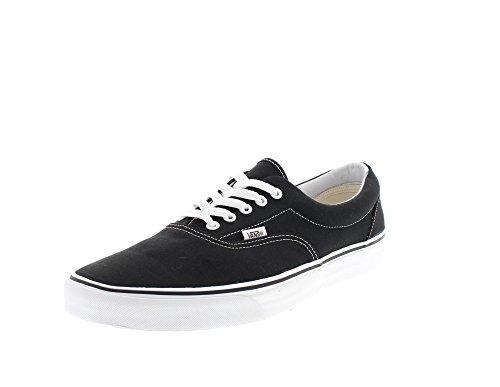 Vans VEWZNVY Unisex Era Canvas Skate Shoes,Black,10 B(M) US Women / 8.5 D(M) US Men