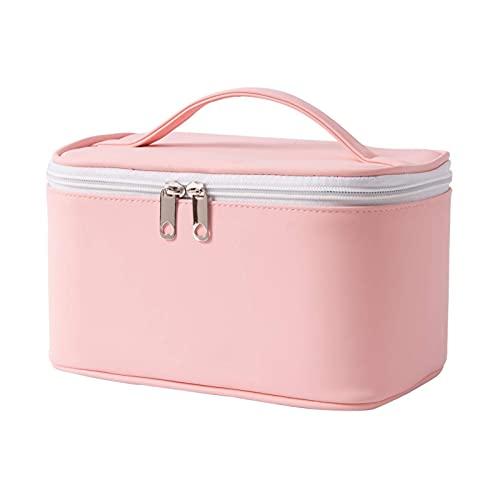 Bolsa de cosméticos para el hogar, bolsa de almacenamiento de viaje, bolsa de inodoro portátil de gran capacidad, bolsa de cosméticos impermeable multifunción