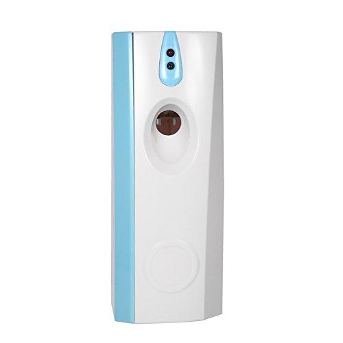 Fdit Dispensador de Aire Acondicionado Dispensador Automático Kit Dispensador DD Aerosol de Perfume LED Montado en Pared para Oficina Hotel