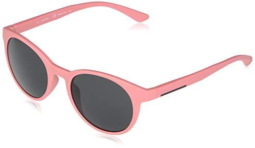 Calvin Klein EYEWEAR CK20543S-676 Gafas, Matte Pink/Solid Smoke, 52-20-145 Unisex Adulto