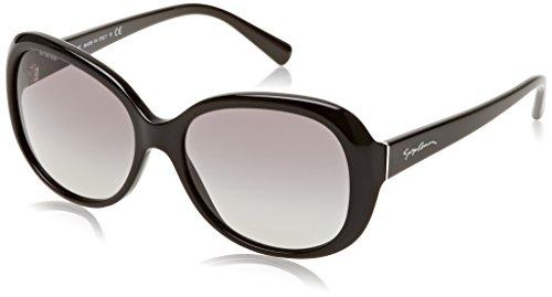 Armani Damen AR8047 Sonnenbrille, Schwarz (Black 501711), One size (Herstellergröße: 56)