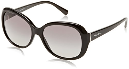 Armani 0AR8047 Gafas, Negro (Black/Grey), 56 para Mujer