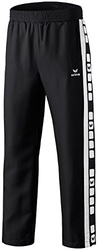 Erima Herren Classic 5-C Pants, schwarz/weiß, M