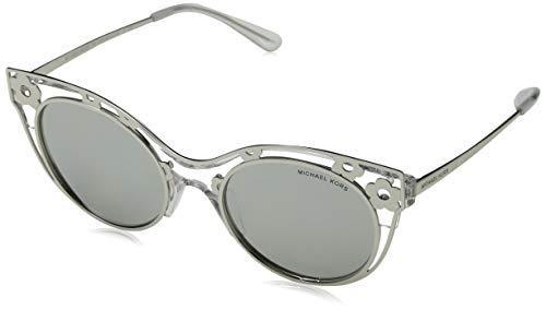 Michael Kors MK1038-30506G-52 Cateye zonnebril 52, zilver