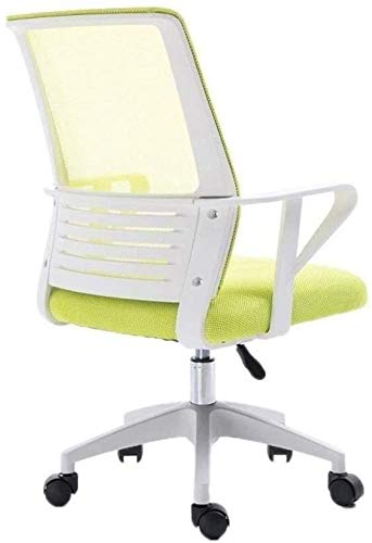 Silla de Oficina reclinable ejecutiva, comoda Silla de Malla Transpirable, diseno ergonomico, Silla ejecutiva Duradera para Estudiantes, Silla de Oficina 2020,Verde