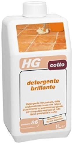 HG detergente brillante per cotto
